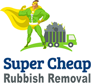 supercheaprubbishremoval logo