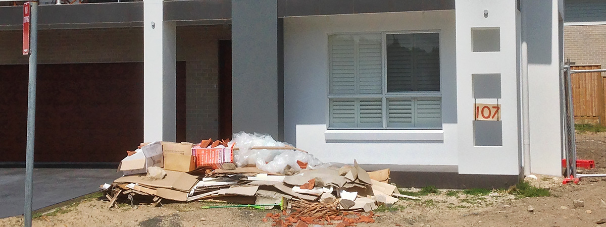 We get rid of your rubbish! Call us on 0405 075 528 today!