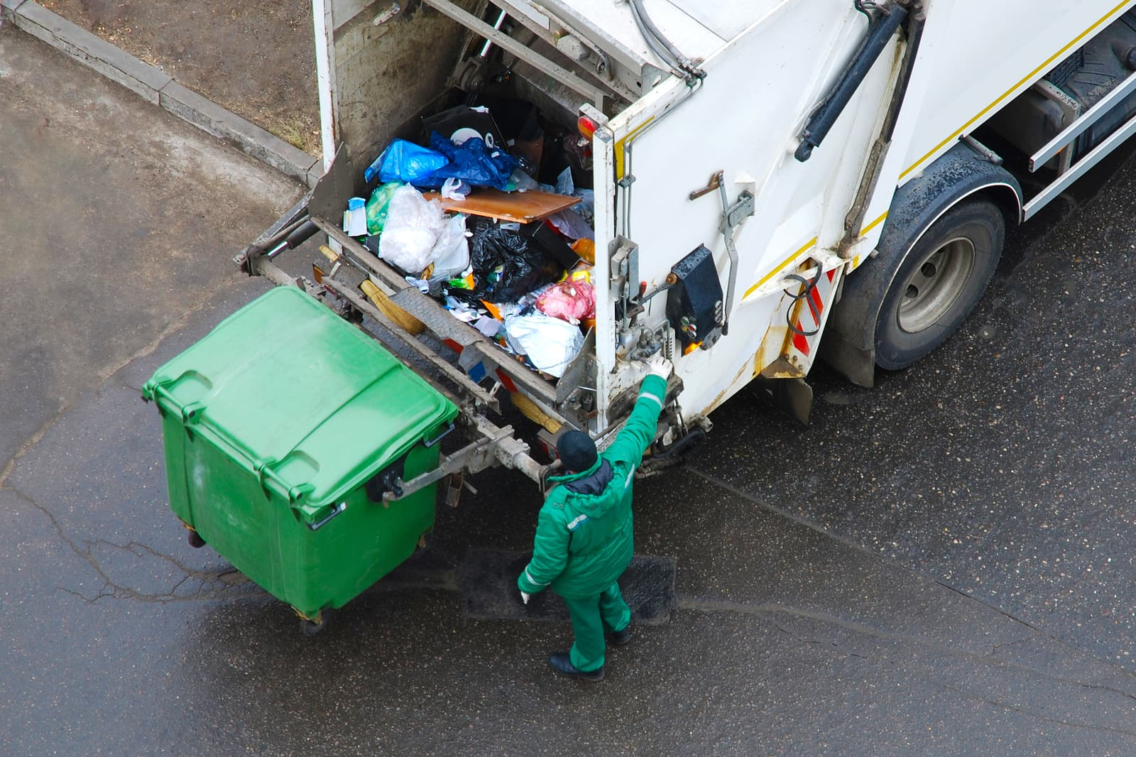 garbage collection rubbish removal